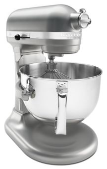 KitchenAid KP26M1XNP 6 Qt. Professional 600 Series Bowl-Lift Stand Mixer full view.