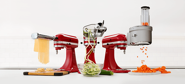 Stand mixer attachments.