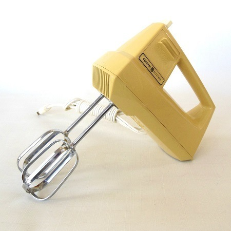 Yellow Hand Mixer